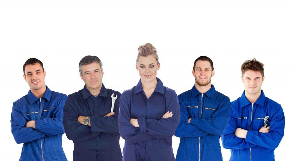 Mechaniker Profis f?r Getriebeschaden